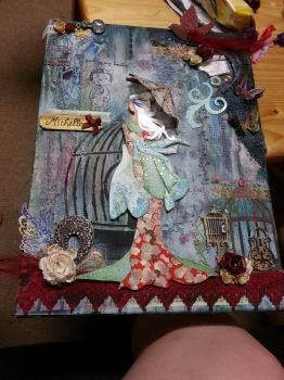 Michelle Canvas Full by Roxie5526