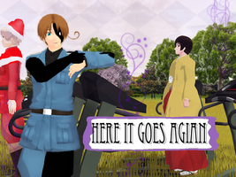 [Dreamtalia MMD] Here it goes agian (video link) by Comical-Carnival