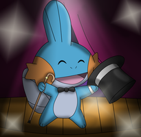 Classy mudkip by Charly-sparks