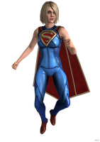 Injustice 2 (IOS): Powered Supergirl. by OGLoc069