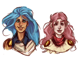 Baby Busts by AlphaCaht