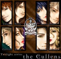 the Cullens by faust-sayuri