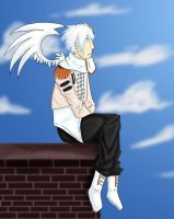 Asher .:Art Trade:. by AnimeVSReality
