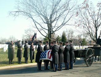 Arlington Military FuneralVIII by GregoriusU