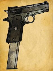 1911 Machine Pistol by CaldwellB734