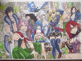Fairy Tail 2012.1 by SuiPumpkin