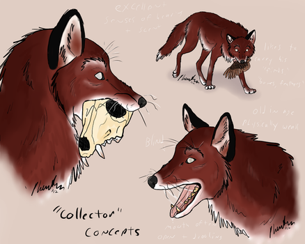 'collector' concept by PhantomWolf