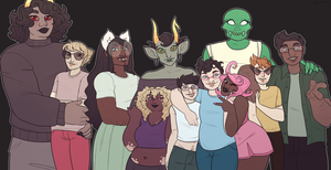 HAPPY HOMESTUCK DAY by gelasticat