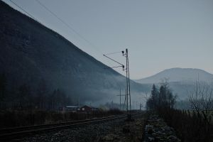 The railroad by Rogerdatter