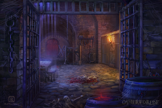 The dungeon by MalthusWolf