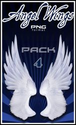 Angel Wings 4 PNG Stock by Alegion-stock