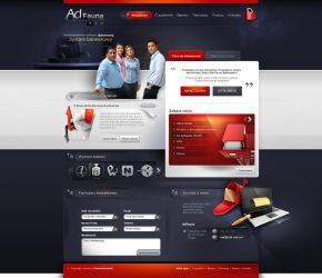 adFauna - webdesign project by webdesigner1921