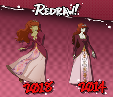 REDRAW: Guinevere, the Resurrected by frankly-art