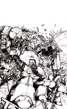 Gnaw - IDW Cover contest by GANTZRUNNER