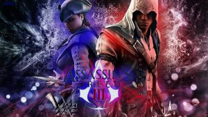 Assassin's creed III abstract wallpaper by Mrbarclonista