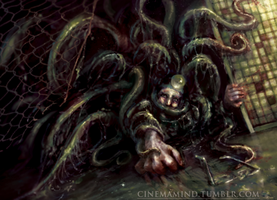 Grasping Tentacles by cinemamind