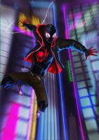 INTO THE SPIDER-VERSE by sia1965pak