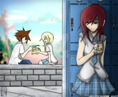 KH2- Broken Heart by mell0w-m1nded