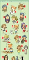 20 Ways to Draw Chibi Emotions by markcrilley