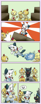 PMD-E Collab: Drug Dealin' Scraggys p1 by Chai-Fox