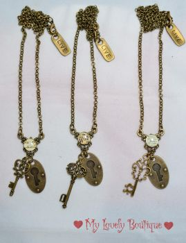 Vintage Key Lock by TheLovelyBoutique