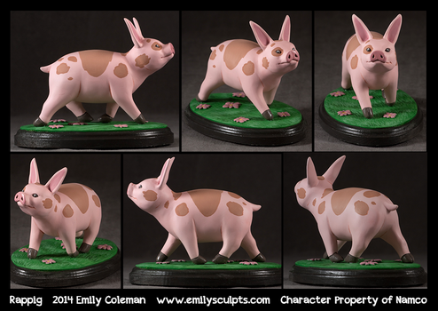 Commission : Rappig by emilySculpts
