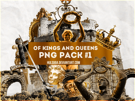 PNG PACK #1 - of kings and queens by hulsuga