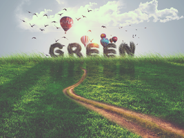 Green - Make world better by GFX-GodPower