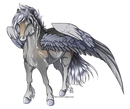 Design Commission - IntelligentWolf by TrinitySilph