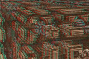 Exploded City Stereo by DDDPhoto