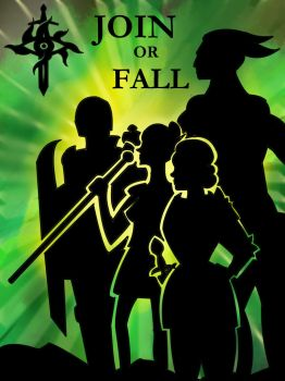 Join or Fall: A Dragon Age Equality Poster by Wings4Wolves