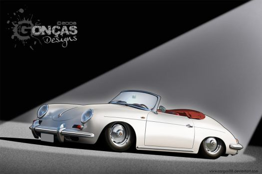 Porsche 356b Cabriolet by carguy88