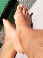 my feet in the spring sun 4 by Netsrot1971