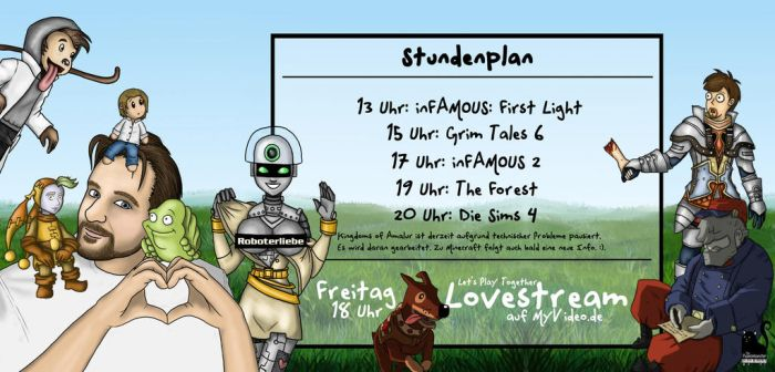 Gronkh-Stundenplan (Stand: 03.09.2014) Ver.2 by ThePianoMonster