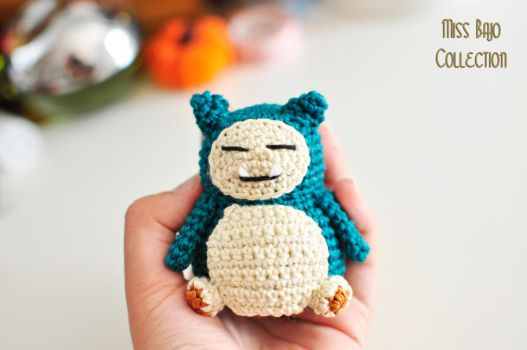 Snorlax by MissBajoCollection