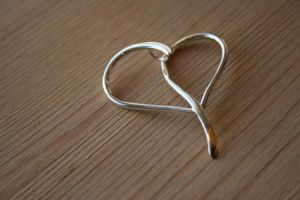 Forged Silver Hearts by LARvonCL