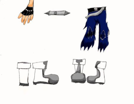 Zack's Accessories by AyalaDeer