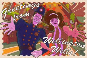 We Happy Few - Postcard Contest Example Entry by fransushka