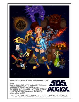 SOS Brigade Recruitment Poster by EotBeholder