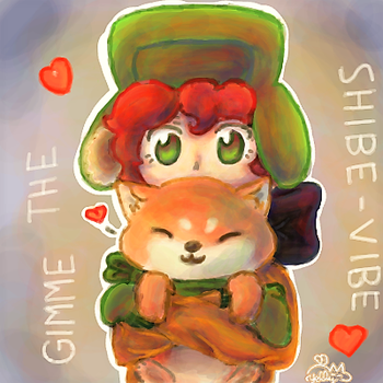 Gimme the Shibe-Vibe by Yellyy