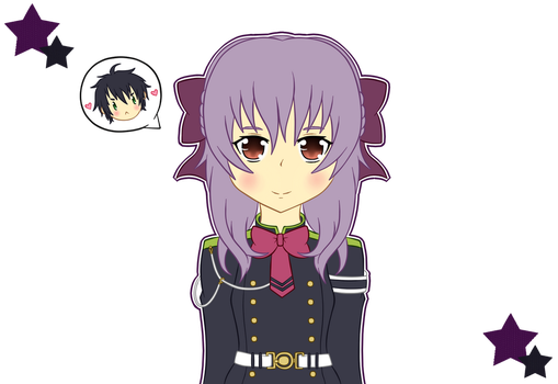 +.:Shinoa Hiragi:.+ by Samy19Sonic