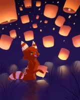 Lanterns by ToonieCheckers