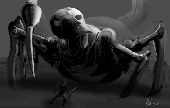 Spider robot by maul10