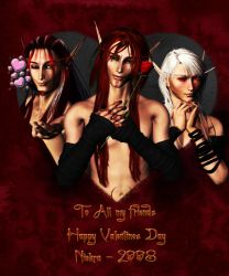Will you be our Valentines? by Niekra