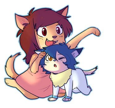 Wolf Children by DonitKitt