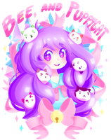 Bee and Puppycat by MagicalHelen