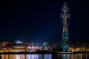 Moscow by night by never-awaken