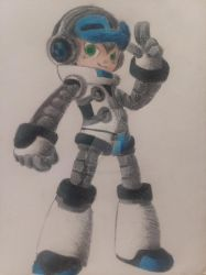 Mighty No. 9 - Beck by DragoonWolf13