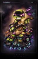 TMNT Mini Donny by RobDuenas
