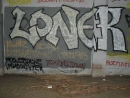 loner throw-up by boot-cheese-3000